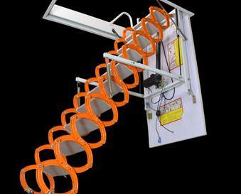 סולם חשמלי עם שלט טלסקופי